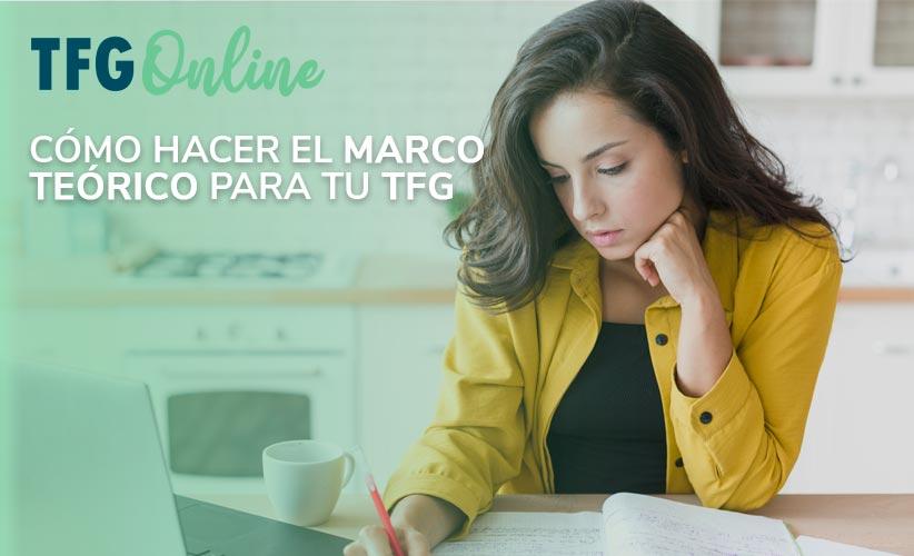 Cómo hacer el marco teórico para tu TFG - TFM - Tesis