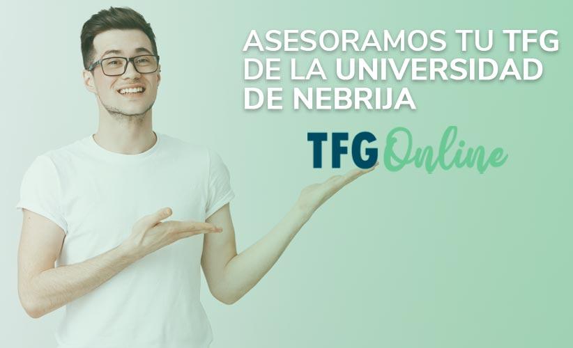 Te ayudamos con tu TFG de la Universidad de Nebrija