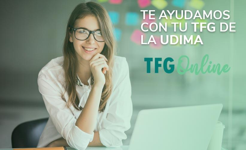 Te ayudamos con tu TFG de la UDIMA