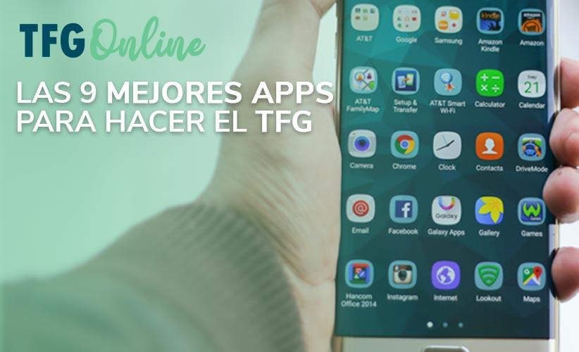 Las mejores apps para hacer tu tfg