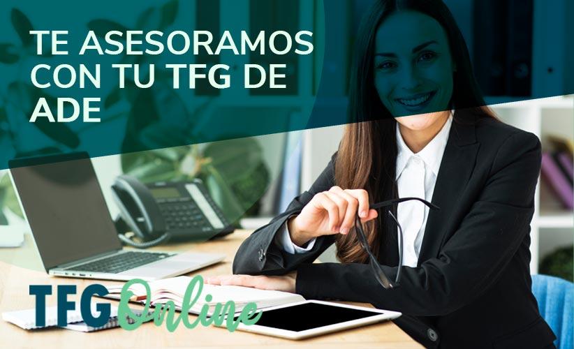 Te ayudamos con tu TFG de ADE