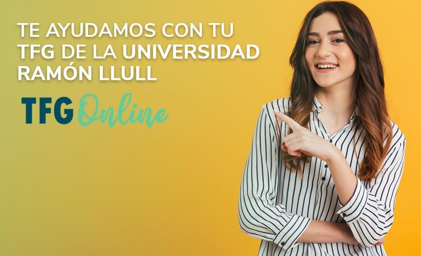Te ayudamos con tu TFG de la Universidad Ramón Llull