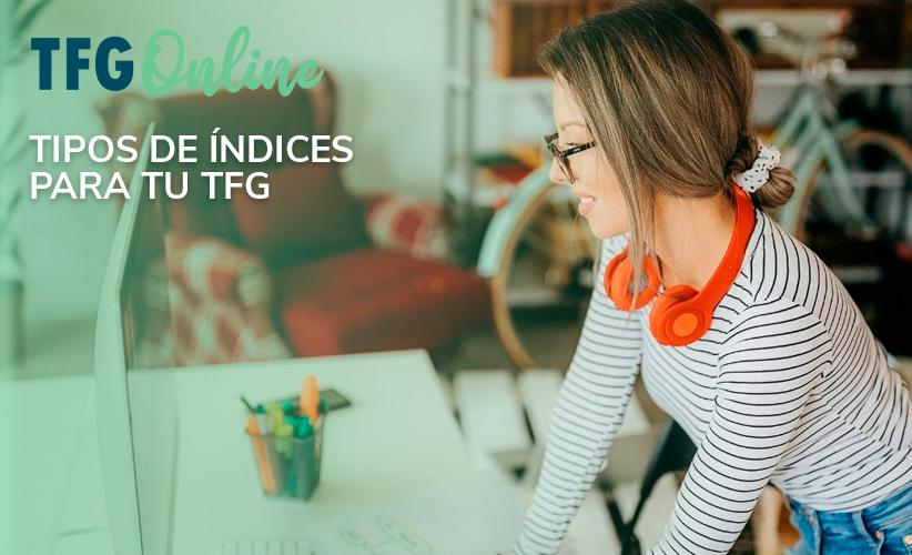 Ejemplo de índice de TFG: cómo hacerlo